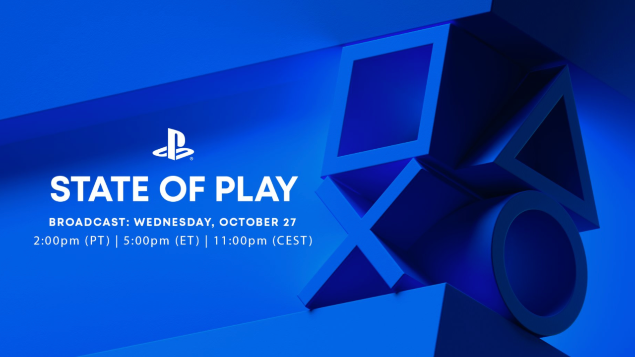 PlayStation State Of Play Coming October 27 Focused On Third-Party PS5 Games