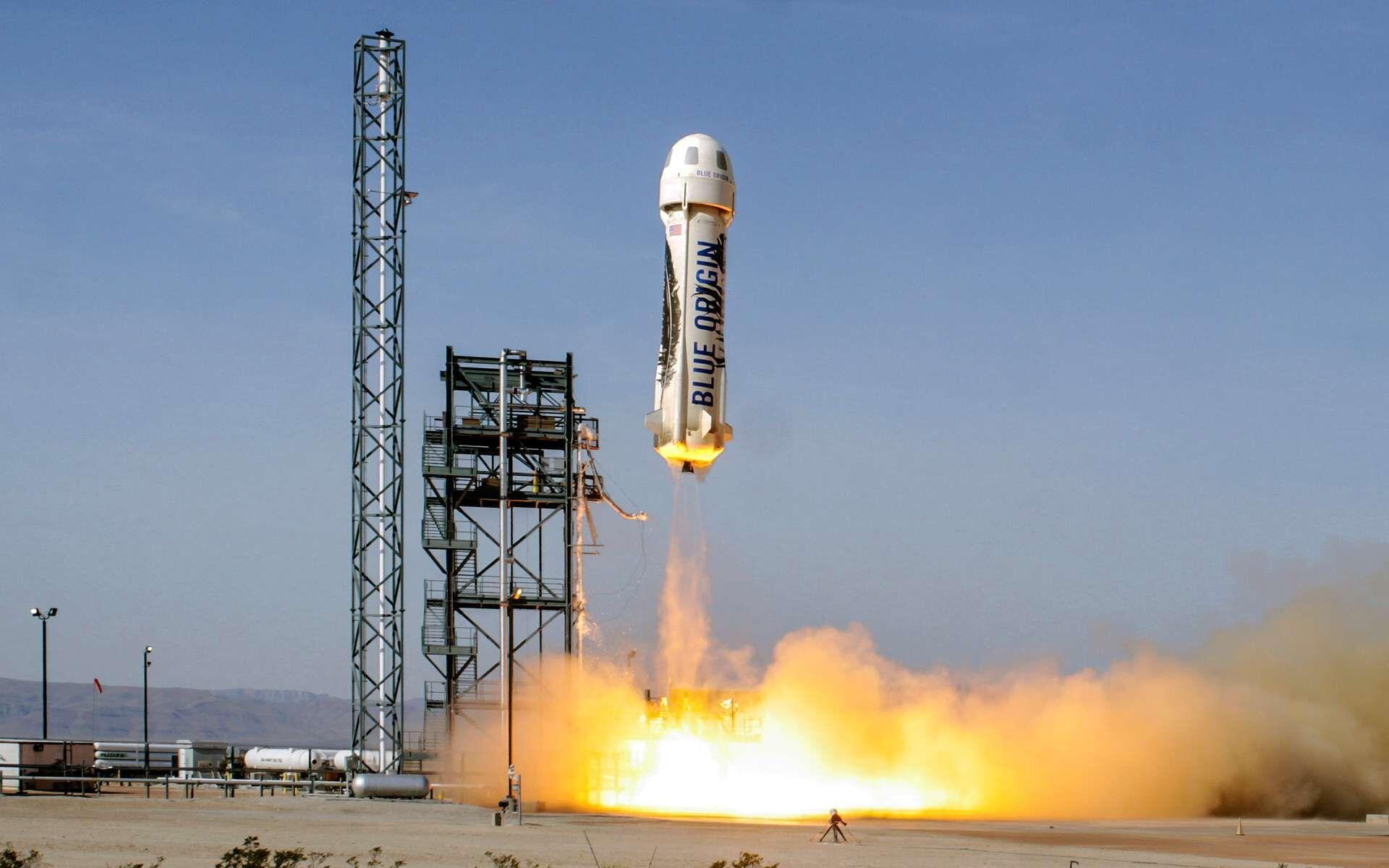 En 2021, la pilote prend sa revanche et réalise son vol spatial avec Blue Origin.