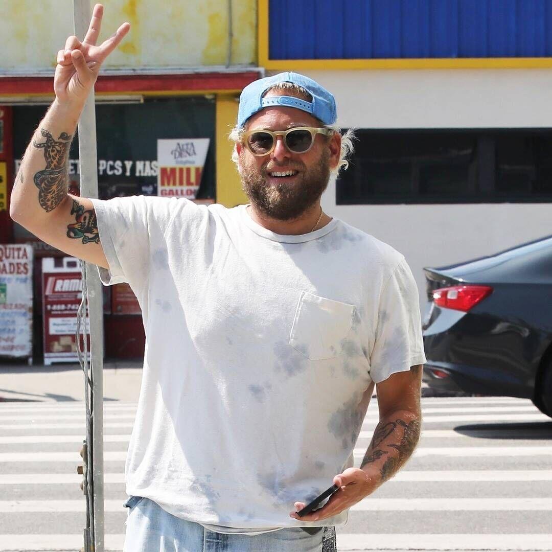 Jonah Hill Debuts New Body Positive Tattoo.