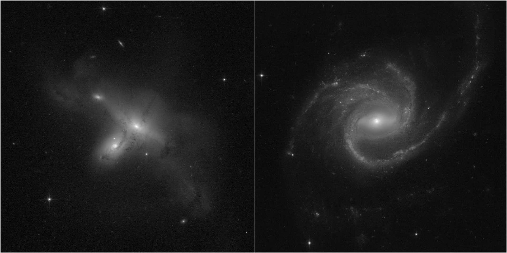 Travaillant depuis le contrôle de mission au Goddard Space Flight Center de la Nasa à Greenbelt, Maryland, ainsi qu'à distance en raison des restrictions imposées par la Covid-19, les ingénieurs de la Nasa ont finalement mené à bien la commutation du télescope Hubble sur un ordinateur de bord de secours. Hubble a repris ce weekend ses observations après un mois d'arrêt, comme le prouvent de nouvelles images.