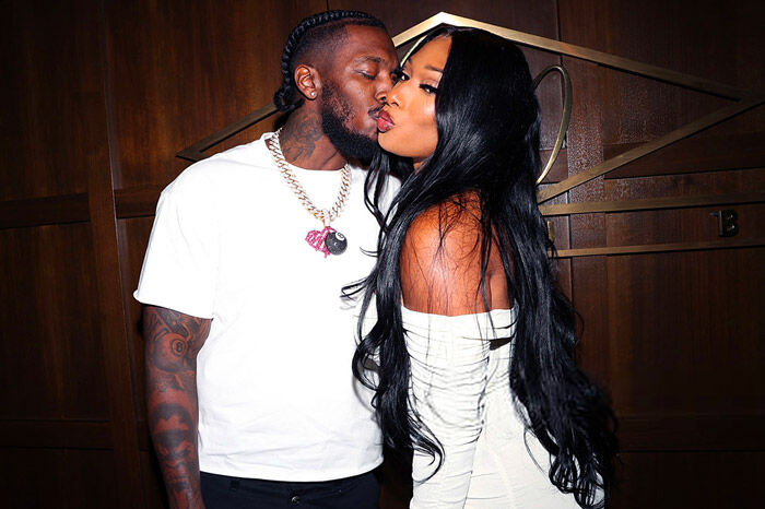 Pardison Fontaine Surprises Megan Thee Stallion with Chain for Anniversary